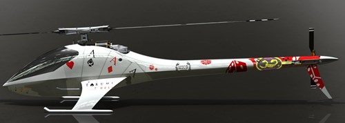 Takumi 700CF Electric Helicopter