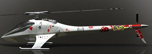 Takumi 700CF Electric Helicopter