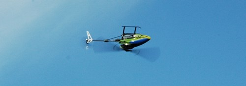 Blade 130X Collective Pitch RC Helicopter Hovering Inverted