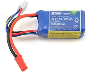 Blade 130S 3S 300mAh 30C LiPo Battery