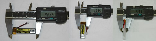 Esky 150 V2 LiPo Size