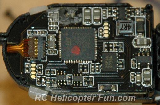 Esky 150 V2 CC3D Control Board Internals