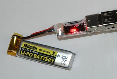 Charging Esky 150 V2 Battery