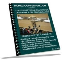 RC Helicopter Swashplate & Flybarless Setup eBook