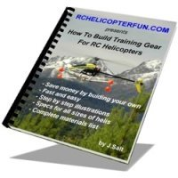 How To Build Training Gear For RC Helicopters eBook