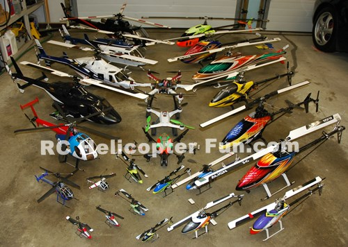 You Know You're Addicted To RC Helicopters When...