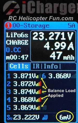 RC LiPo Battery Cell Balancing