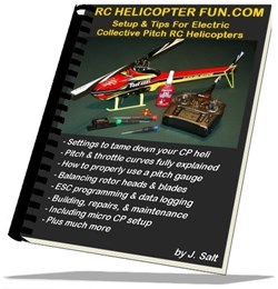 RC Helicopter Setup & Tips eBook