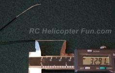 2.4 GHz RC Whiskar Antenna Tuned Length