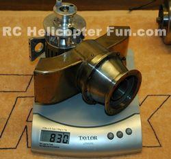 2nd Stage Power Turbine & Gear Box = 830g