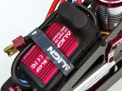 The Trex 450LP Comes With Align's Quality RCE-BL45P Brushless ESC Rated At 50 Amps.