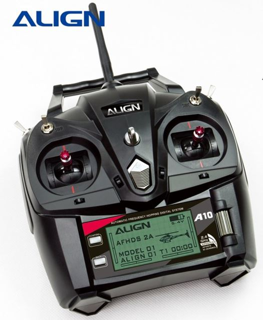 Align's A10 Computerized Radio Is Included With All Their RTF Helicopter Packages
