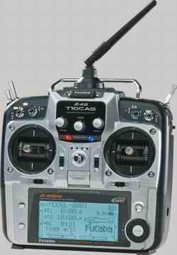 Futaba 10CG RC Helicopter Radio