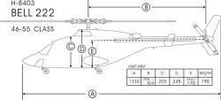 FunKey Fuselage Sizing Chart