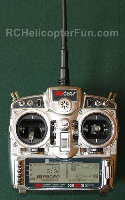 RC Helicopter Computerized Radio