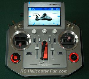 The RC Radio - What We Use To Control Our RC Helicopters
