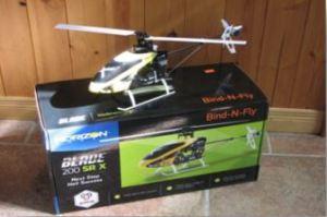 Blade 200 SRX BNF Box