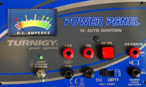Nitro RC Engine Power Panel