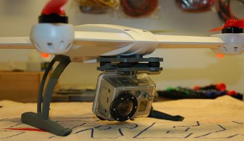 Blade 350 QX GoPro Mounting