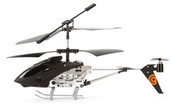 3CH Coaxial Toy Helicopter with Tail Fan