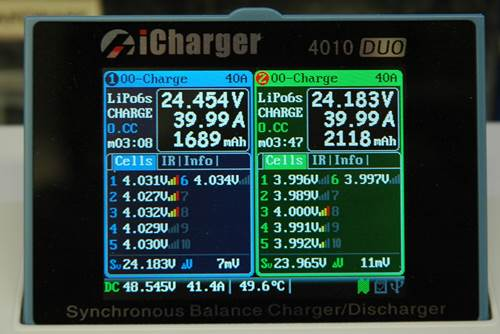 iCharger 4010 Duo 40 Amps Per Channel = 80 Amps Total