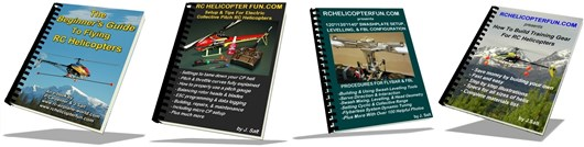 eBook Combo 4: Big RC Heli eBook Package