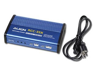 Align's RCC-3SX Automatic LiPo Charger Comes Standard With The Trex 450 LP ARTF Package