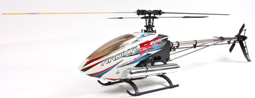 Century RC Radikal G20 Gas RC Helicopter