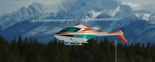 Advanced Fully Aerobatic RC Helicopter