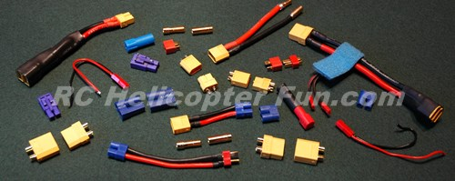 Wire Connectors Type | Rc Lipo Battery Connector Types Choosing Soldering