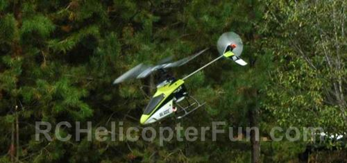 Blade 120SR Fixed Pitch RC Helicopter Flying Very Well On A Calm Day