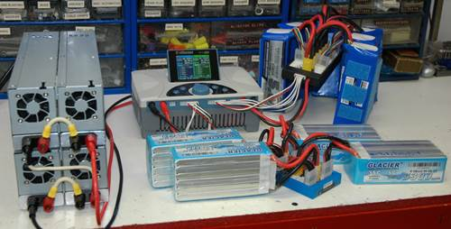 Para Charging Multiple 6S LiPo Packs - Never Unattended!
