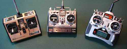 Old To New RC Radios