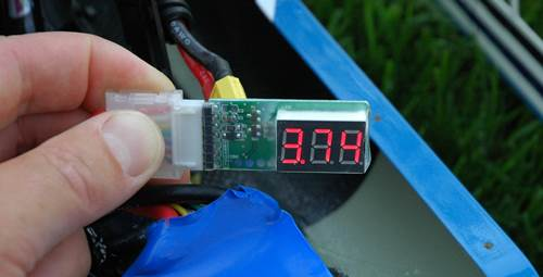 Checking 80% LiPo Discharged Voltage