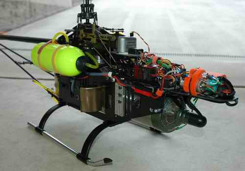 Inside A RC Turbine Helicopter