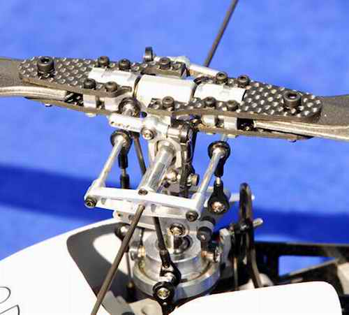Lots Of Screws And Parts In A Typical Rotor Head