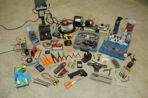 Too Many RC Helicopter Tools