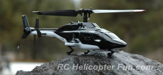 Esky F150 V2 Scale Bell 222 In Airwolf Color Scheme
