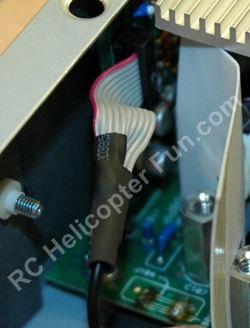 DPS 600PB Ribbon Cable Heat Shrink Application
