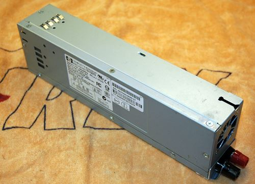 HP DPS 600PB Power Supply Conversion For RC Use Instructions