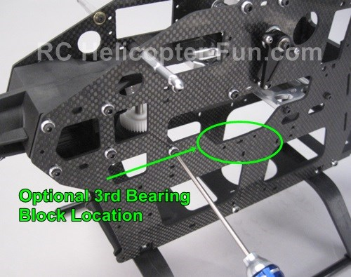 Phoenixtech 600ESP 3RD Bearing Block Location