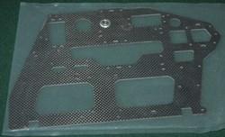 600ESP Carbon Main Frame Left Side