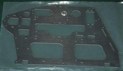 600ESP Carbon Main Frame Right Side