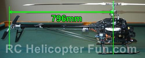 600 ESP Mast To Tail Shaft Distance