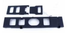 600ESP Main Frame Parts/Tray Set