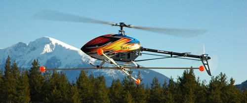 Align's T-Rex 600E Pro Electric Powered RC Helicopter