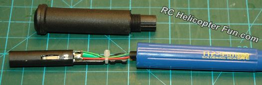 Inside The T12 9501 Soldering Iron Handle