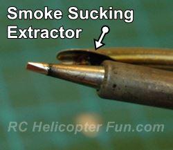Aoyue 968A+ Smoke Extractor