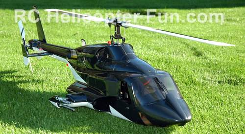 600/50 Size Airwolf Scale RC Helicopter