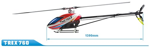 Align Helicopters T-Rex 760